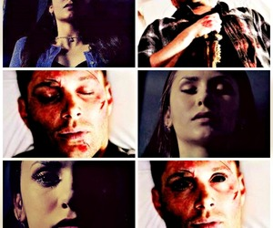 dead, dean winchester, and demon image