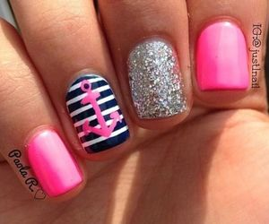 colors, nails, and cute image