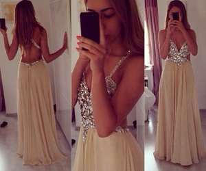 dress and prom dress image