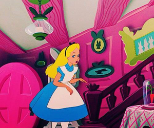 alice, disney, and cute image