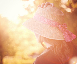 girl, hat, and photography image
