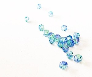 beads, blue, and color image
