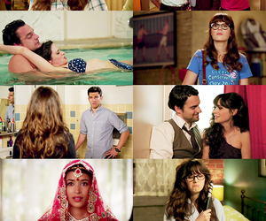 new girl and zoey dechanel image