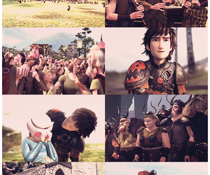 brave, drawing, and hiccup image
