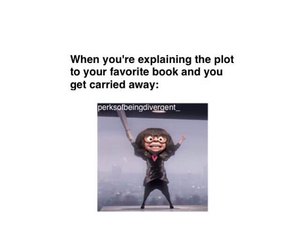 book, The Incredibles, and divergent image