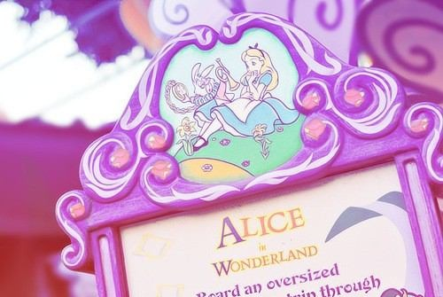 disney and alice image
