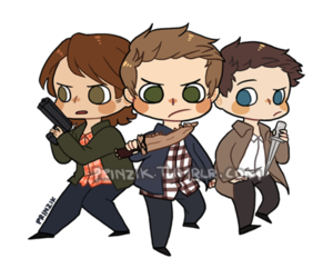 fanart, supernatural, and supernatural fanart image