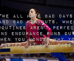 be strong, gymnastics, and motivation image