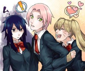 sasuke uchiha, gender bender, and sakura haruno image