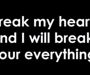break, text, and heart image