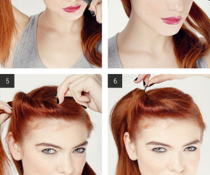 diy, hair, and quick image