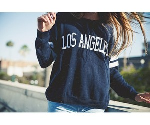 girl, los angeles, and style image