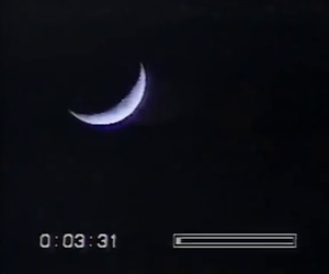 moon, black, and crescent image