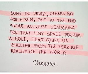 drugs, escaping, and far away image