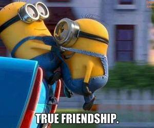 friendship, minions, and friends image