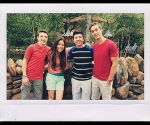disneyland, bradley steven perry, and jake short image