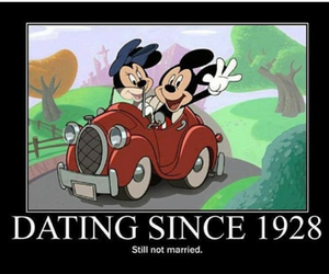 disney, funny, and dating image