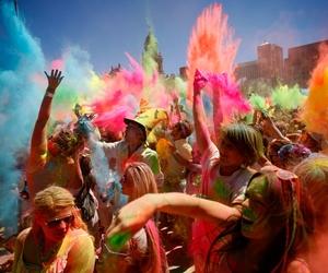 fun, color, and festival image