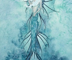 fantasy, mermaid, and pretty image