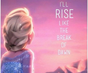 frozen, elsa, and quote image