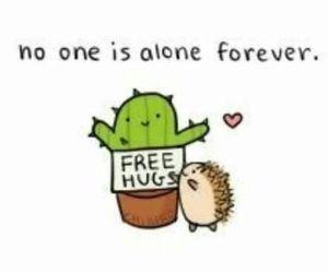hug, love, and alone image