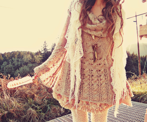 clothes, feather, and dress image