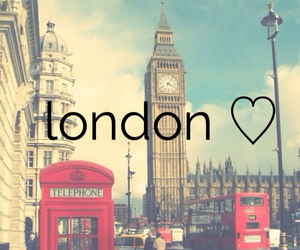 london, love this city, and ♥♥ image