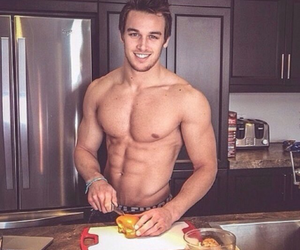 cooking, sexy, and fit image
