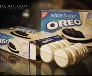 oreo, food, and white image