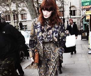 fashion, florence and the machine, and florence welch image