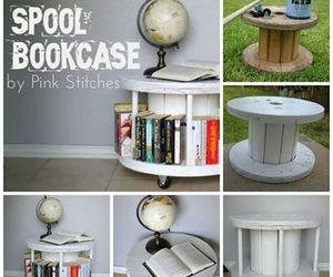 diy, bookcase, and books image