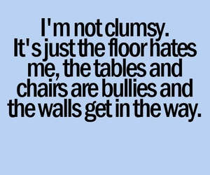 clumsy and funny image