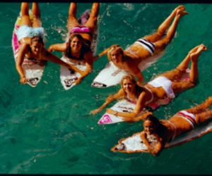 surfing and roxy image