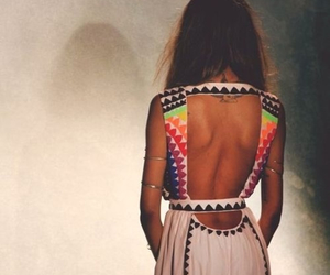 dress, style, and back image