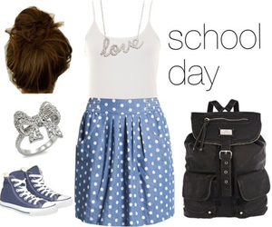 cute outfits, cute, and back to school image