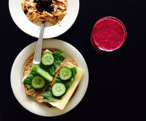 breakfast, delicious, and healthy image