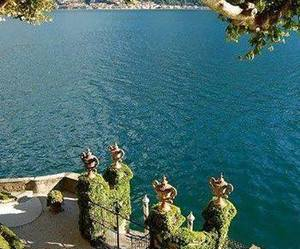 italy and lago di como image