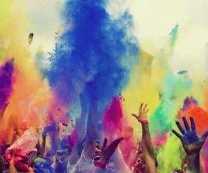 festivals, color run, and fun image