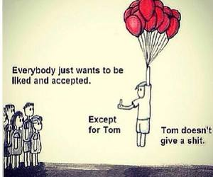 funny, Tom, and quote image
