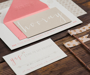gray, invitation, and letterpress image