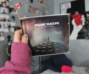 imagine dragons, music, and cd image