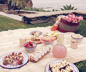 picnic and beach image