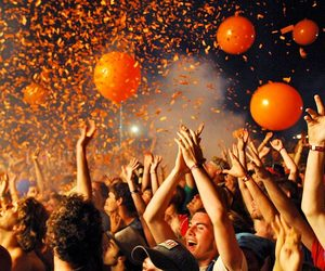 balloons, fest life, and music image