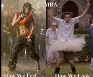 funny, zumba, and dance image
