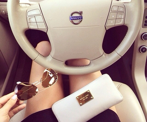 car, volvo, and luxury image