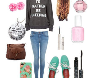 cute outfits, back to school, and outfits for school image