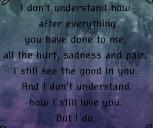 heartbroken, hurt, and love quotes image