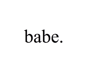 babe, bae, and transparent image