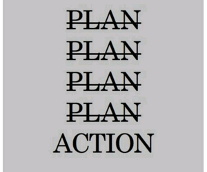 Action, plan, and quotes image