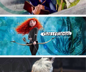 divergent, disney, and rapunzel image